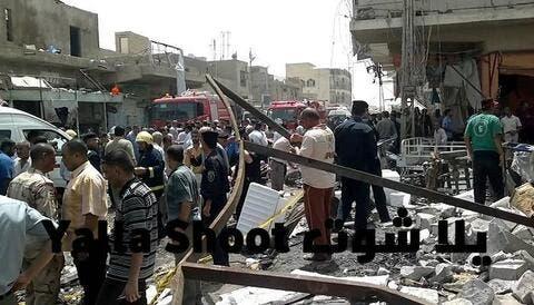 عشرات القتلى بتفجير دام في مدينة الصدر عشية العيد