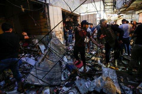 داعش يعلن مسؤوليته عن التفجير