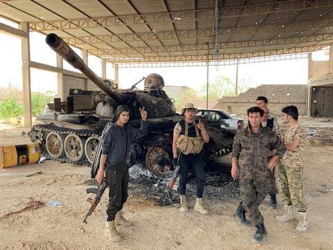 قوات الوفاق الليبية تدخل مدينة بني وليد بعد سيطرتها على ترهونة