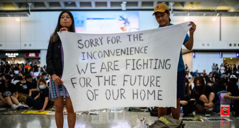 Hong Kong Fights Authoritarianism Alone