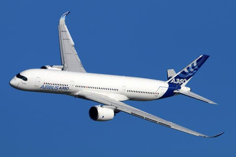 New Spanish Airline World2fly Receives Its First Airbus A350