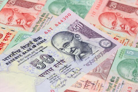 Indian Rupee Rises Amid A Drop In Daily COVID Cases