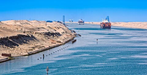 Suez Canal Authority Willing to Negotiate with Container Ship Owner