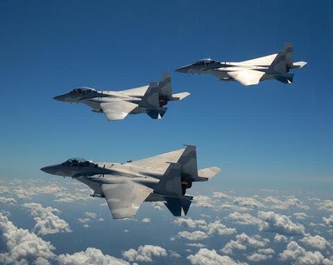 Boeing Unveils F-15QA for Qatar