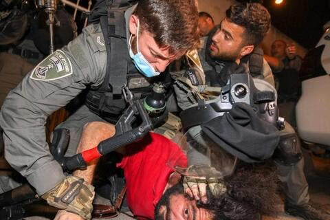 Is This What Democracy Looks Like? Military Tactics Against Palestinian Demonstrations