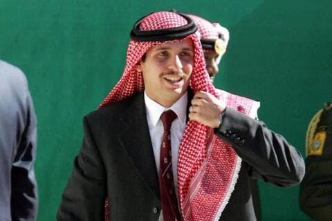 Prince Hamzeh Joins King Abdullah, Crown Prince in Royal Cemetery Visit