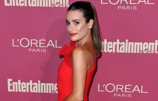 "Lea Michele and Anders also penned an original song for the CD called, ""Christmas in the City."""