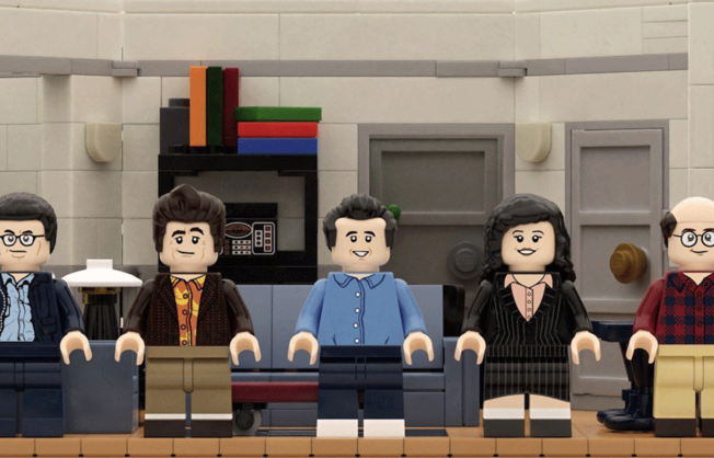 LEGO to Release Commemorating 'Seinfeld' Set for 30th Anniversary of Series